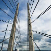 Öresundbrücke, Skane, Schweden, Skandinavien/ Oresund bridge, Sweden,Scandinavia
